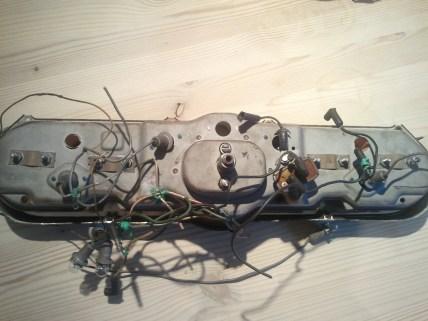 Cut dash wires