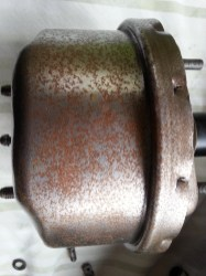 Booster surface rust