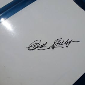 The man himself who started it all. The late Carroll Shelby.