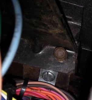 Bottom bolts