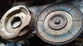underside and inside lid