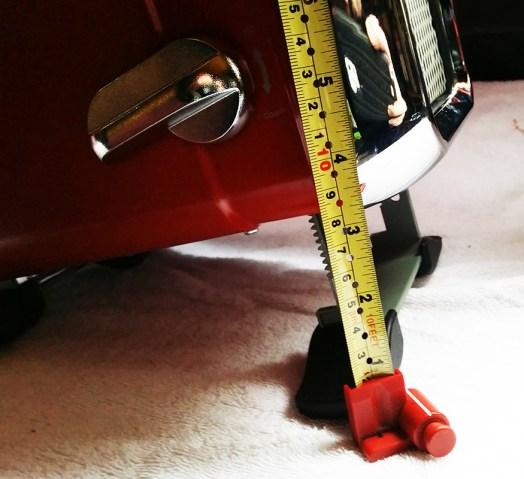 max elevation for adjustment