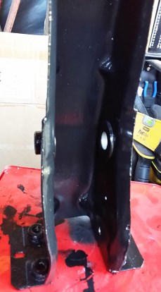 bracket with under hood black