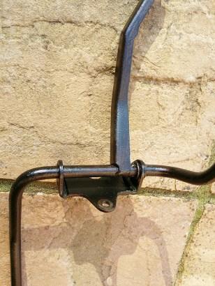 rust treatment applied