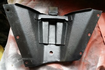 Rust encapsulator before red oxide