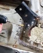 weakening the spot welds