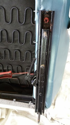 rod clipped in place