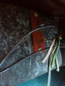 Cut plenum wires