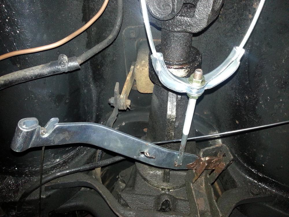 64 Chevy C10 Wiring Diagram 65 Truck Hand Brake Refurbishment One Man And His Mustang