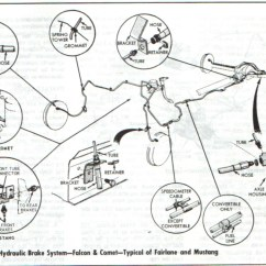 66 Mustang Wiring Diagram Watch Movement Front Rear Brake Diagrams One Man And His