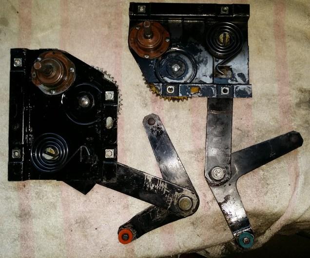 mechanisms cleaned