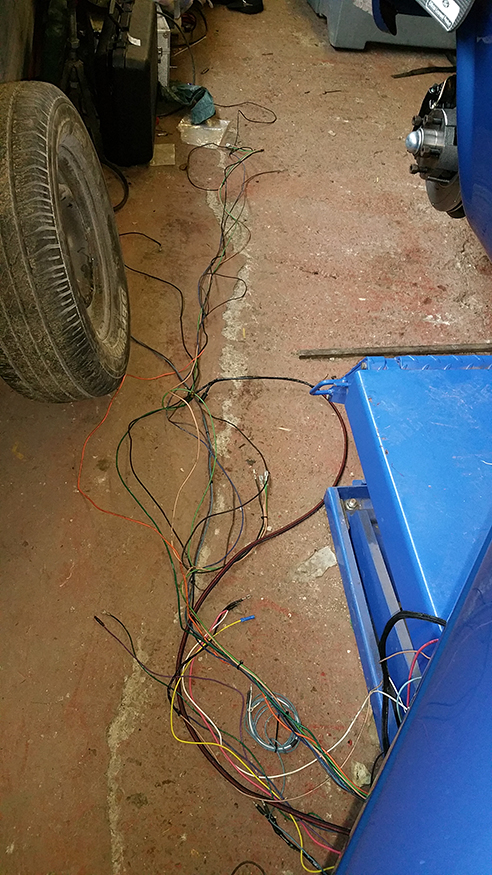 Ford Truck Complete Wiring Harness American Autowire Classic Update