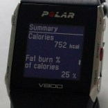 Calories burnt an how much fat you used.