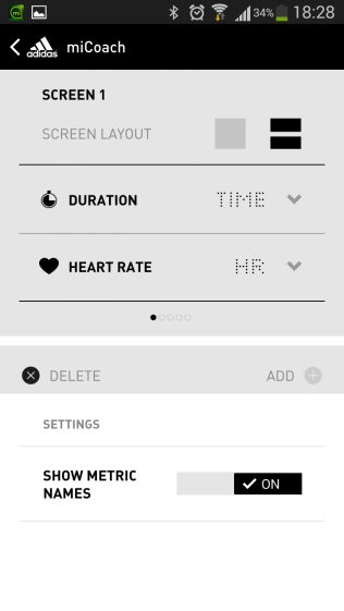 Setting up the displays on your Fit Smart.