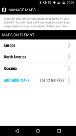 Overview of your maps