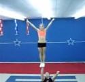 Katie and King Cheerleading