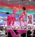 Pole Dancers at Flamingo