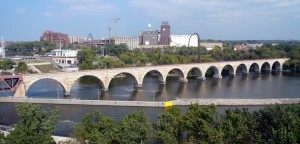 Minneapolis Historic Stone Arch Bridge