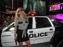 Blonde Police Woman