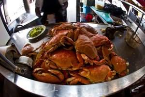 Crabs-at-Fishermans-Wharf