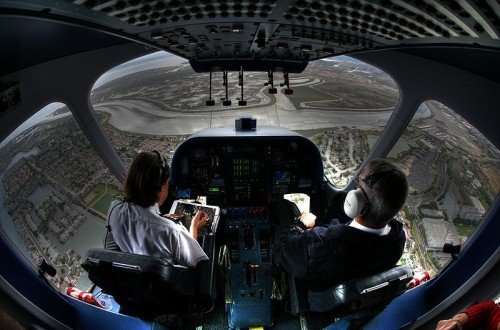 Blimp cockpit