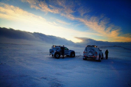 Jeeps in Iceland