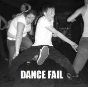 Dancing Kick to the Nuts Fail