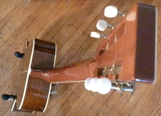 Martin OM-30DB neck