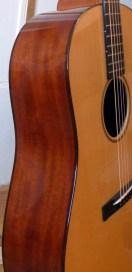 CS-D18-12 Madagascar rosewood binding
