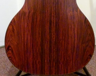 Custom CEO-7 cocobolo lower bout