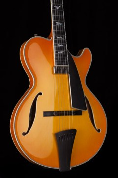 Collings CL Jazz archtop NAMM 2017 One Man's Guitar onemanz