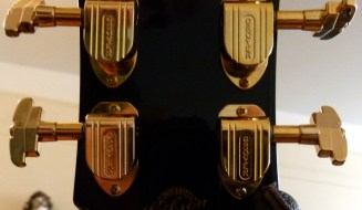 Gibson J-200 Ebony Limited Grover tuners