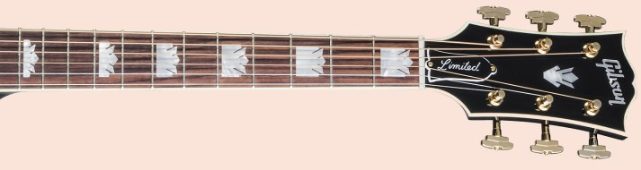 Gibson SJ-200 Ebony Limited fret markers borrowed