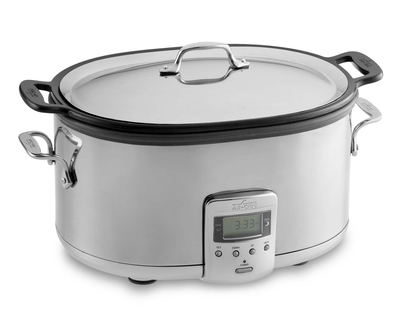 All Clad slow cooker image with link to purchase at Amazon
