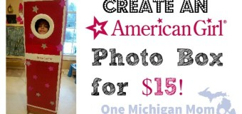 DIY American Girl Photo booth – Your Life Size Doll for Birthday Parties!