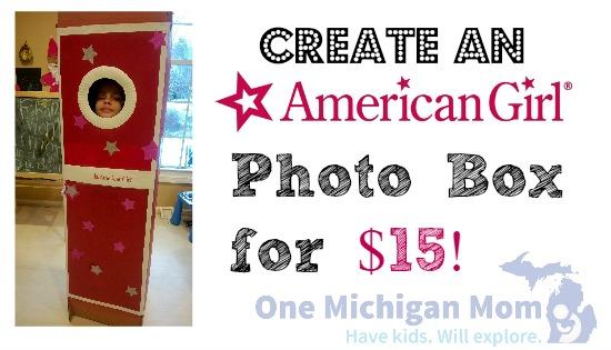 American Girl photo booth ideas