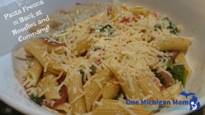 Noodles and Company new pasta fresca 2017