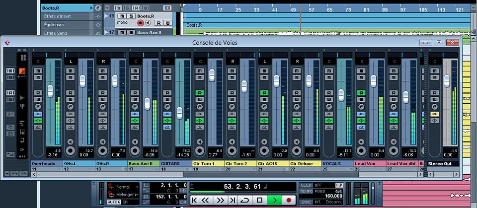 mixer correctement