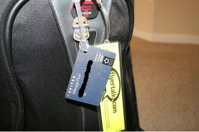 Turn those old elite cards into luggage tags  One Mile