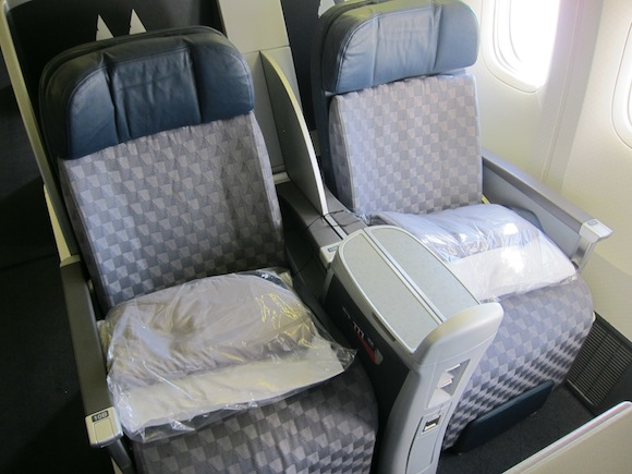 The best business class seats for couples traveling