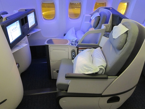 Flying Business Class on Air Chinas Boeing 777300ER