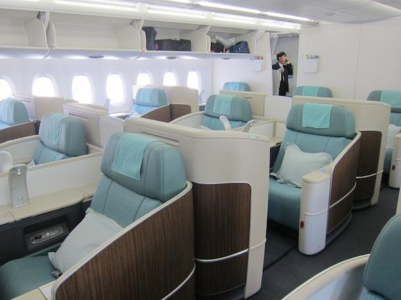 Korean Air A380 First Class Seoul Incheon to Los Angeles