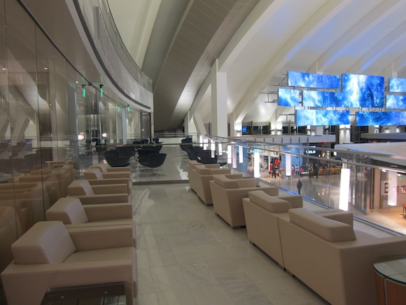 Review Korean Air Lounge Los Angeles Airport  One Mile