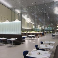Steelcase Chair Posh Covers And Bows Durham Qatar Airways First Class Lounge Doha To Open Late April 2015 - One Mile At A Time