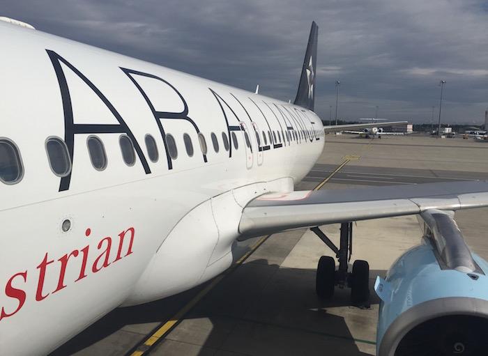 Review Austrian A320 Business Class Vienna To Frankfurt