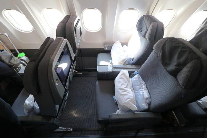 Review SAS Plus Premium Economy A340 Copenhagen To San