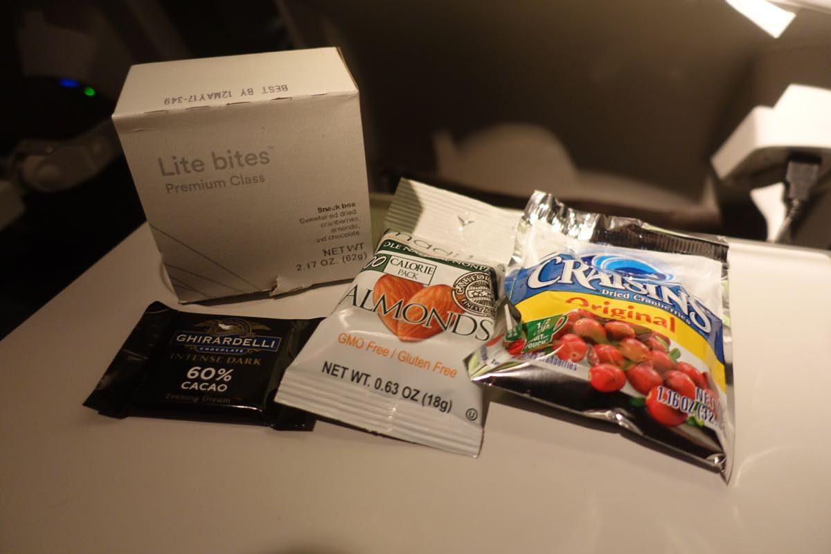 Alaska Airlines Is Eliminating Snack Boxes In Premium Class One Mile At A Time
