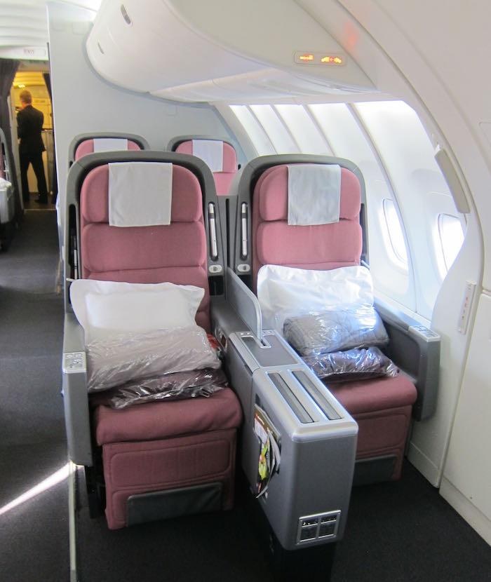 Qantas 747 400 Business Class | Oxynux.Org