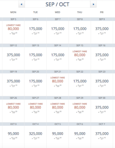 Skymiles award rate also delta price increases as of october one rh onemileatatime