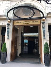 Park Hyatt Paris Vendome Mile Time
